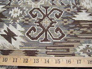 Southwestern Navajo Patterned Chenille Mix Tapestry Upholstery