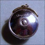 Schiaparelli Designer Signed Rhinestone Pendant Charm Vintage