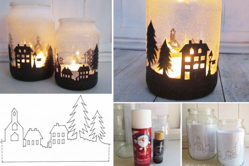 10 bricolages et exp riences de no l noel id es alsh christmas candle christmas deco et. Black Bedroom Furniture Sets. Home Design Ideas