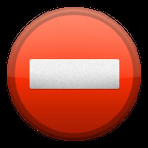 No Entry Emoji Iphone Fun