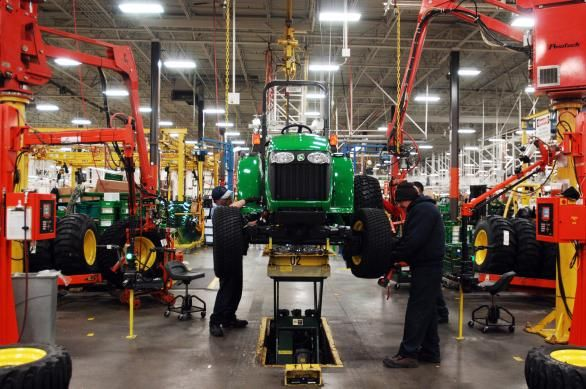 John Deere Assembly Line : John deere assembly line all about pinterest