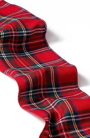 Love this tartan plaid ribbon