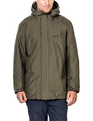 low priced aaaf3 14574 Jack Wolfskin Damen 3-in-1 Jacke Iceland Jacket Granite XXL ...
