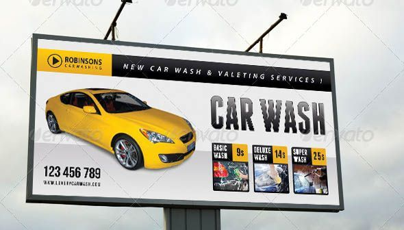 20 Beautiful Car Service Banner & Signage Templates – Design Freebies -  - #Ba...