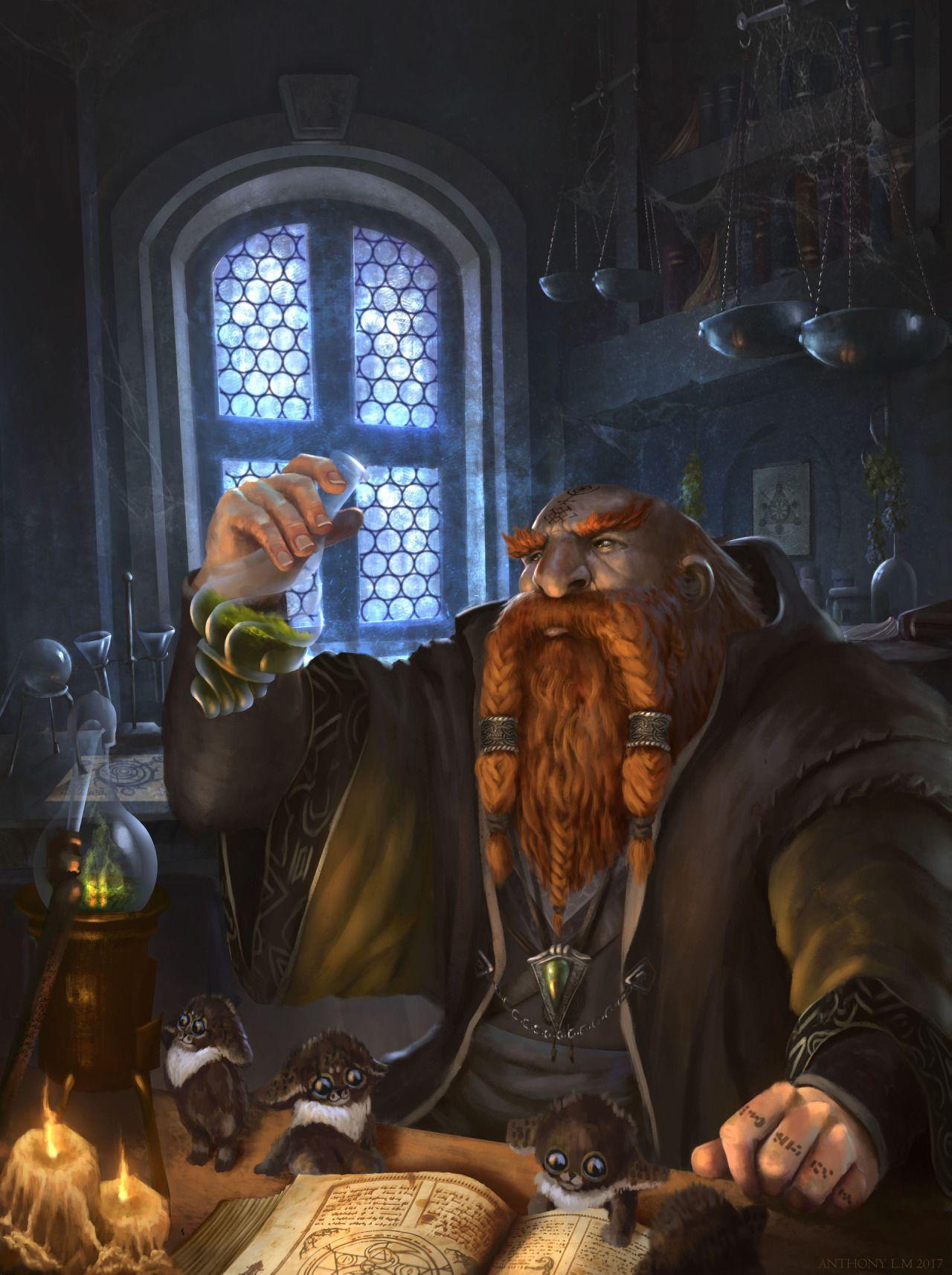 Pin by Razir 6112 on Male Dwarf Alchemist Artificer