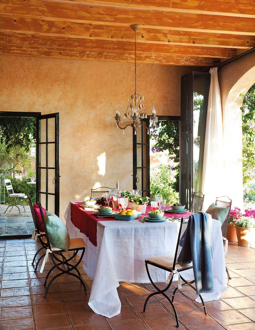 Una Casa Provenzal En Menorca Elmueble Com Casas Exterior  # Muebles Sisal Queretaro