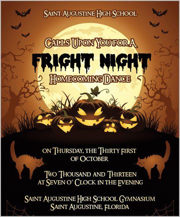 Free Printable Halloween Invitation Template Elegant ...