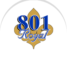 801 Royal Menu