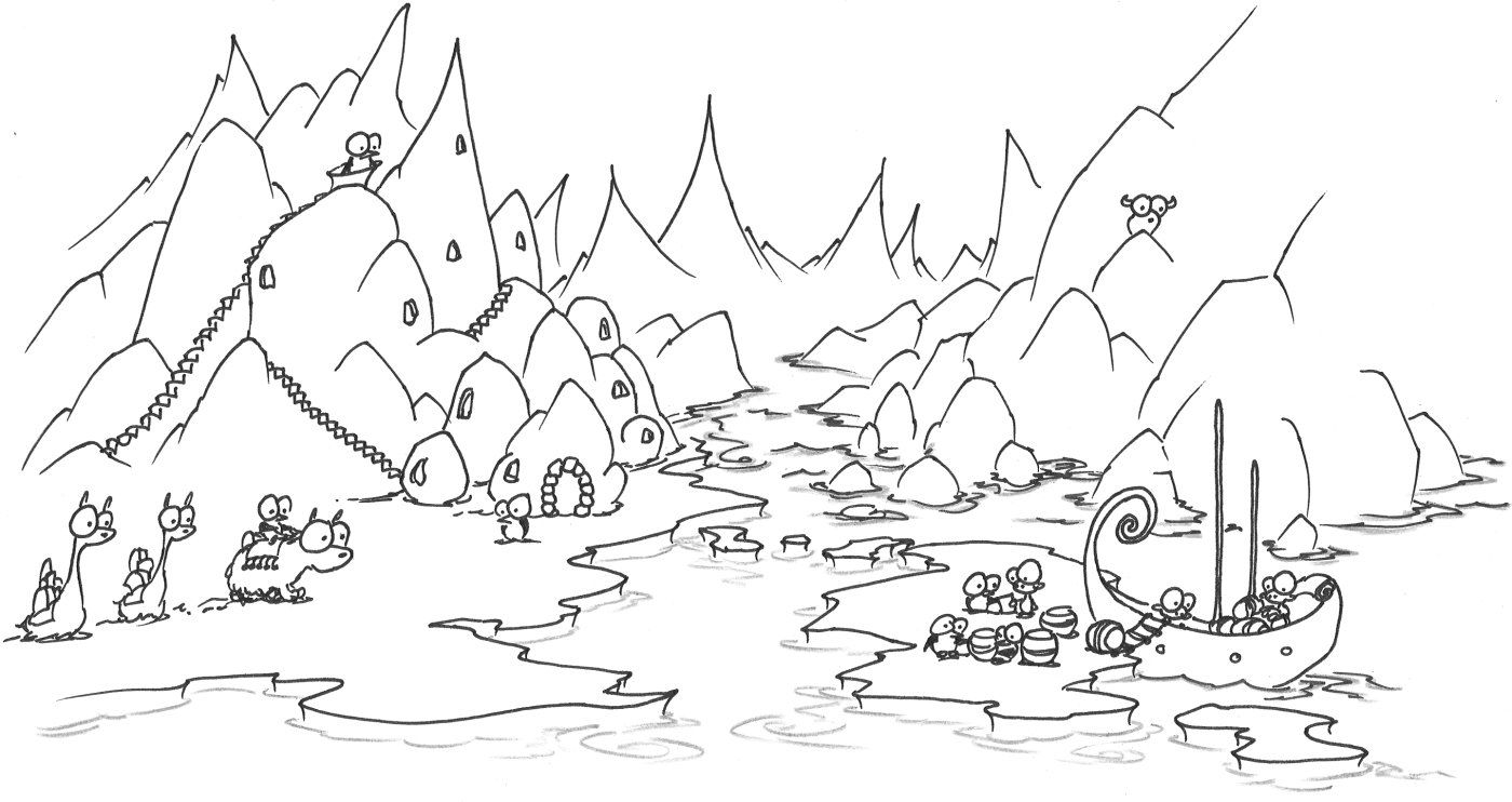 Arctic Coloring Pages To Print