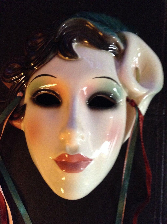 Clay art Mask San Francisco Co. Clay art, Carnival masks