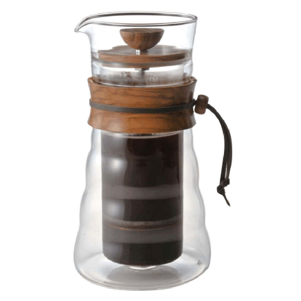 Bed bath beyond french press - Coffee Experimental Hario Large Double Wall Coffee French Press Olive Wood 400ml 14oz Dgc