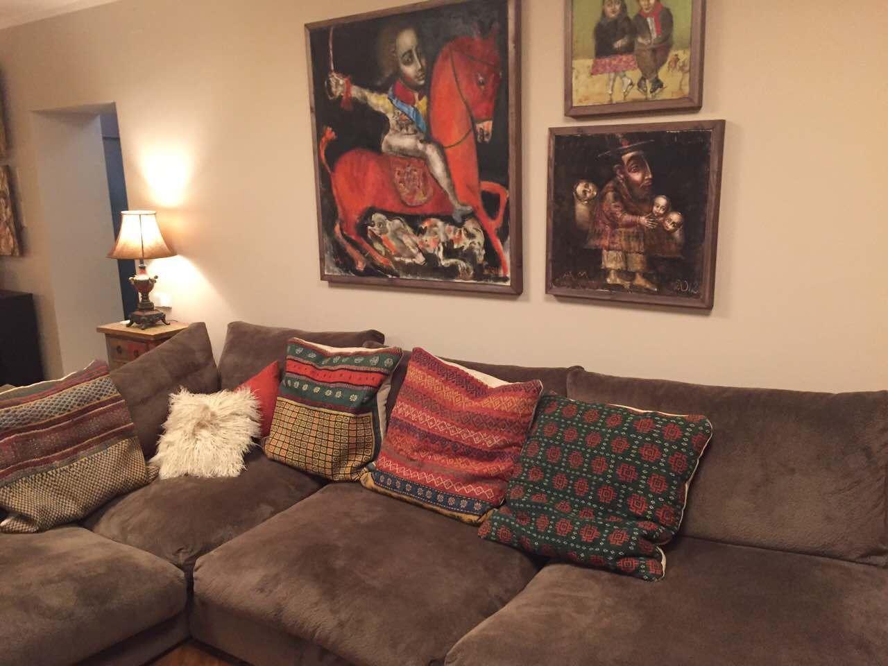 deko furniture. Serbian Family Home In Moskow. Wooden Table, Living Room, Icons, Wood, Deko Furniture D