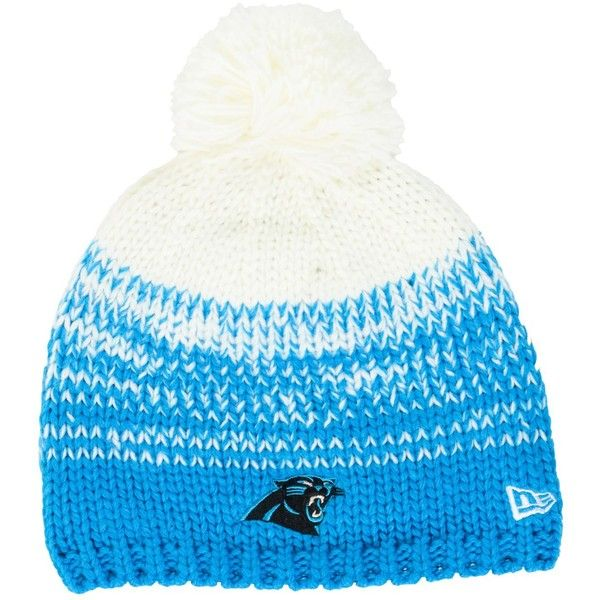 New Era Women s Carolina Panthers Polar Dust Knit Hat ( 26) ❤ liked on  Polyvore f064d755d