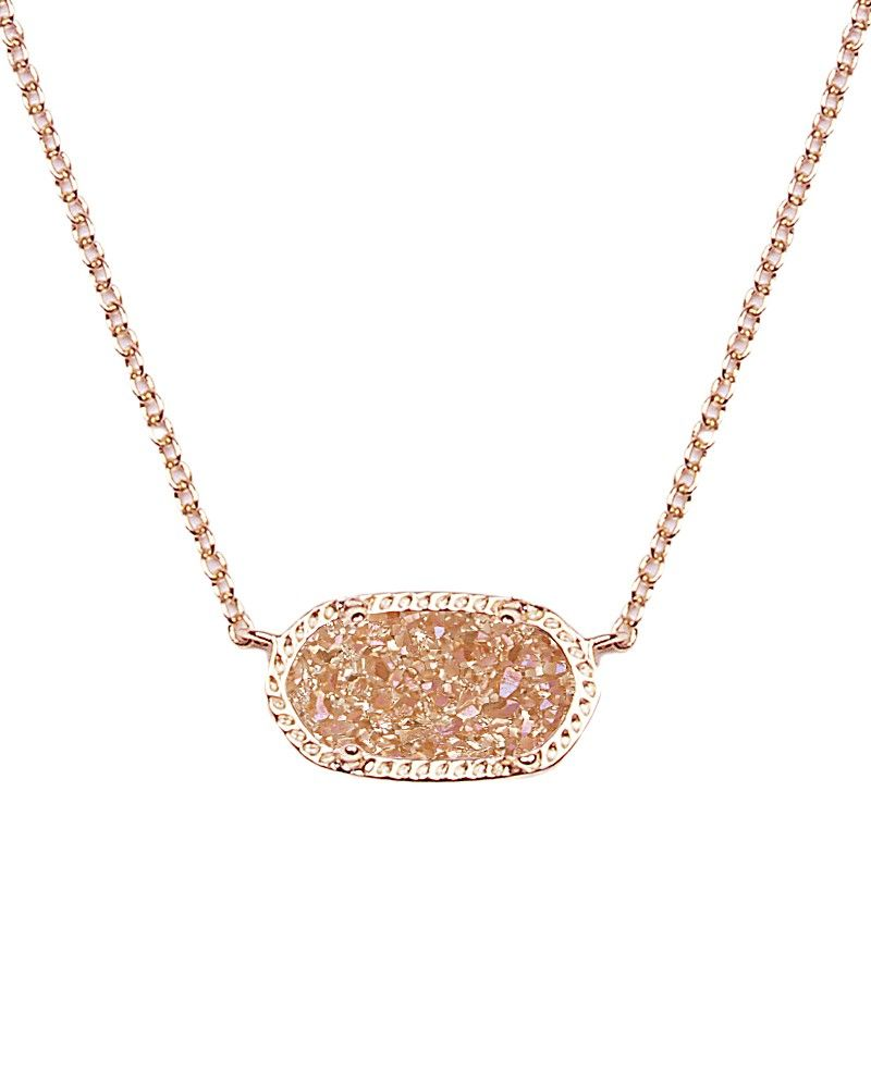 stitch fix elisa pendant necklace in champagne drusy kendra