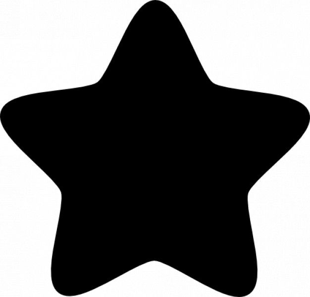 Star With Five Rounded Points Free Icon Free Icon Freepik Freeicon Star Silhouette Cameo Freebies Free Icons Baby Flash Cards