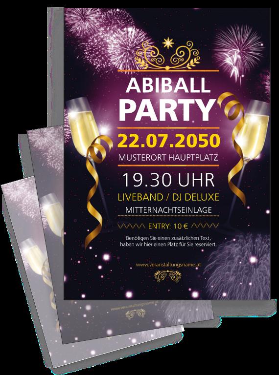 Generiere Deinen Eigenen Flyer Onlineprintxxl Vorlage Flyervorlage Abi Ball Party Flyer Vorlagen Fur Flyer Flyer Vorlage