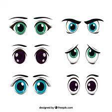 Resultado De Imagen Para Ojos Animados Tiernos Cartoon Eyes Eye Painting Eye Illustration