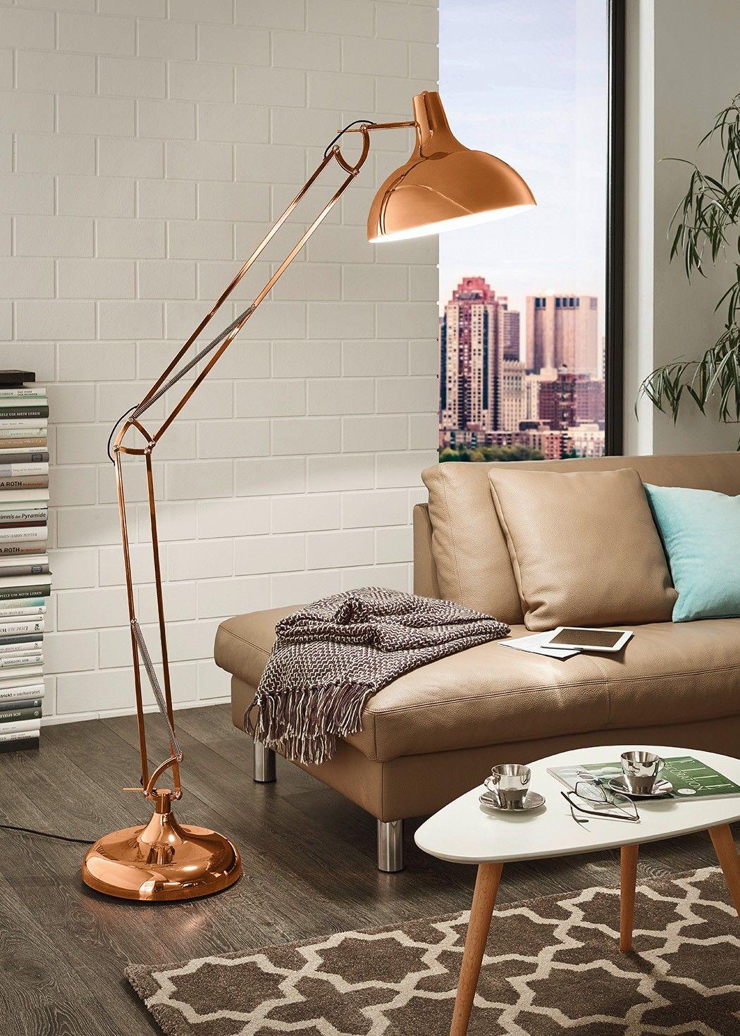 Eglo Borgillio Floor Lamp Copper Aug Stāvs Copper