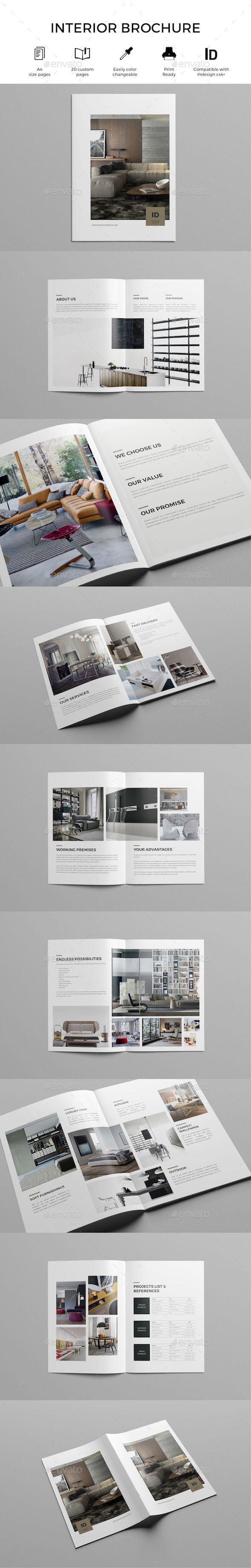 Furniture and Interior Catalog – Interior Design Brochure Template