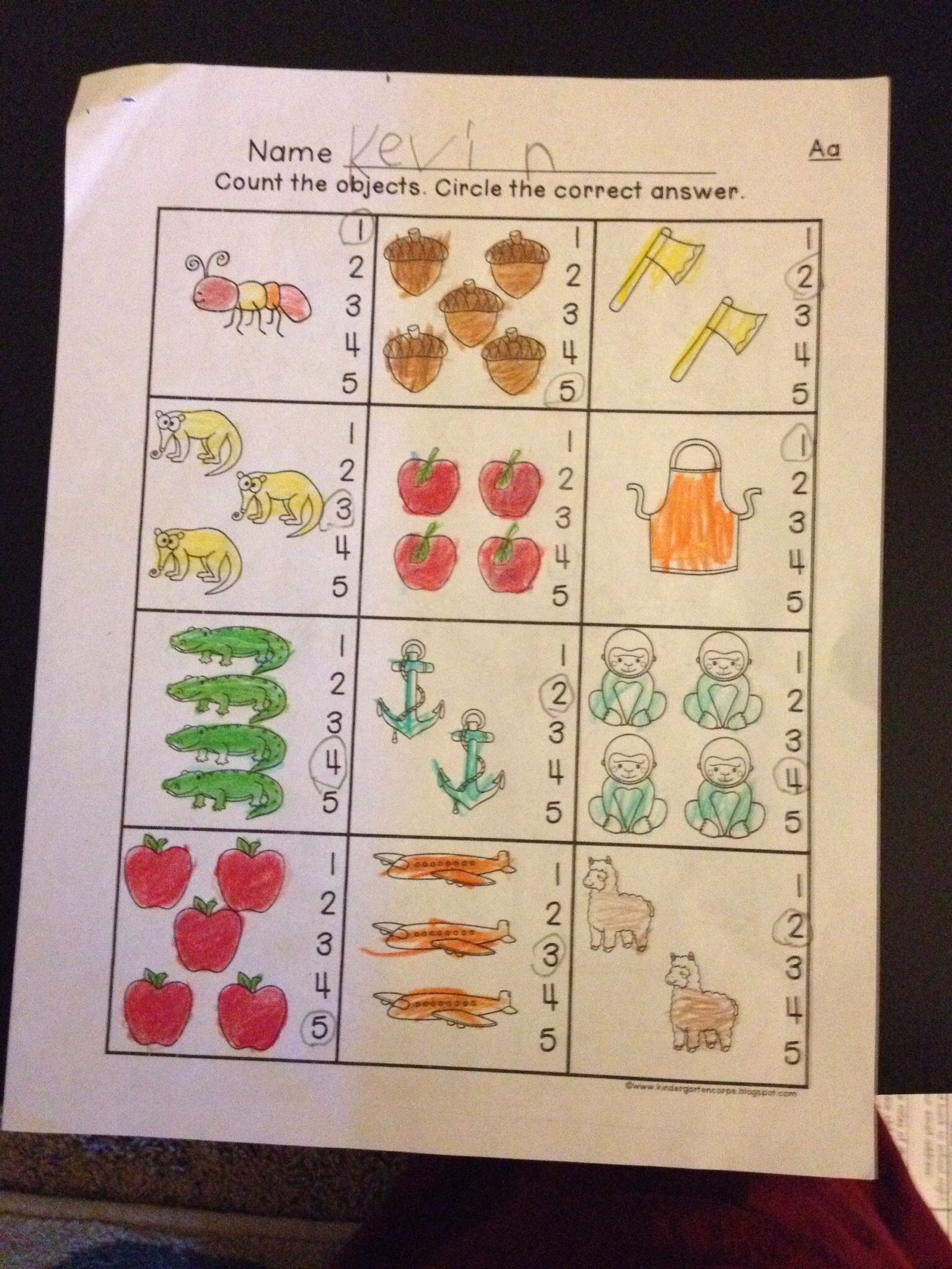 Numbers 0 To 10 Fluency