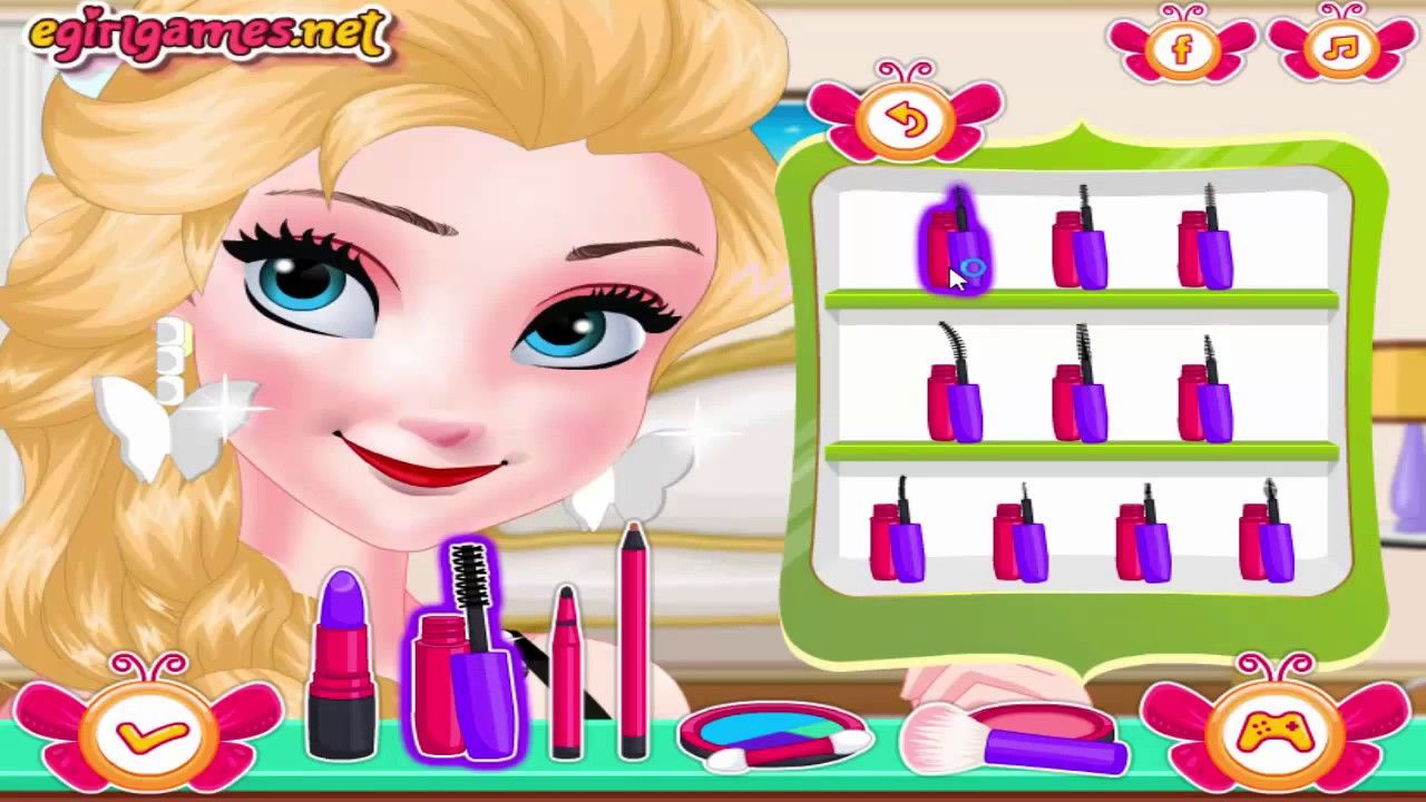 Barbie Facial Dress Up Games