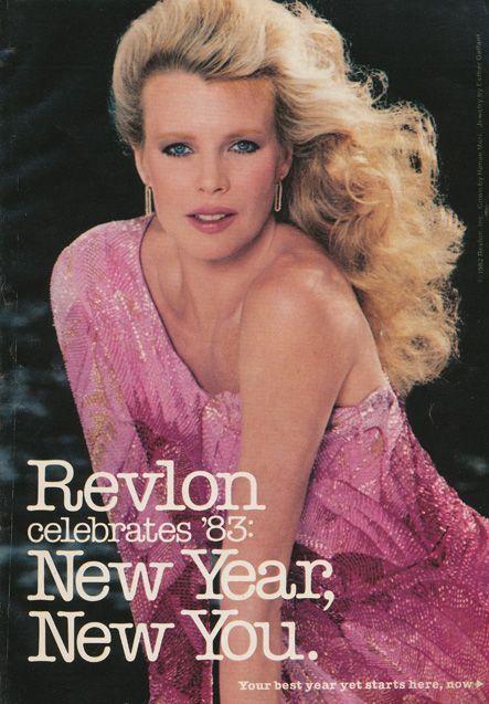Kim Basinger For Vogue 1983: Pink Vintage Fashion 1980s On Kim Bassinger 1983 Revlon Ad