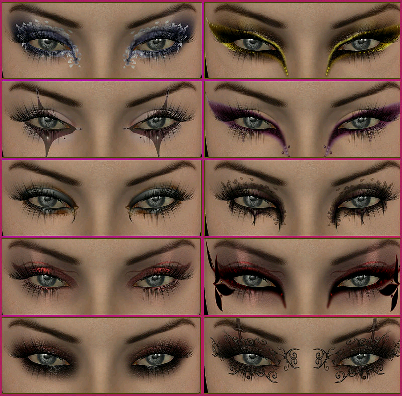 Eyes: Different Eye Makeup Styles
