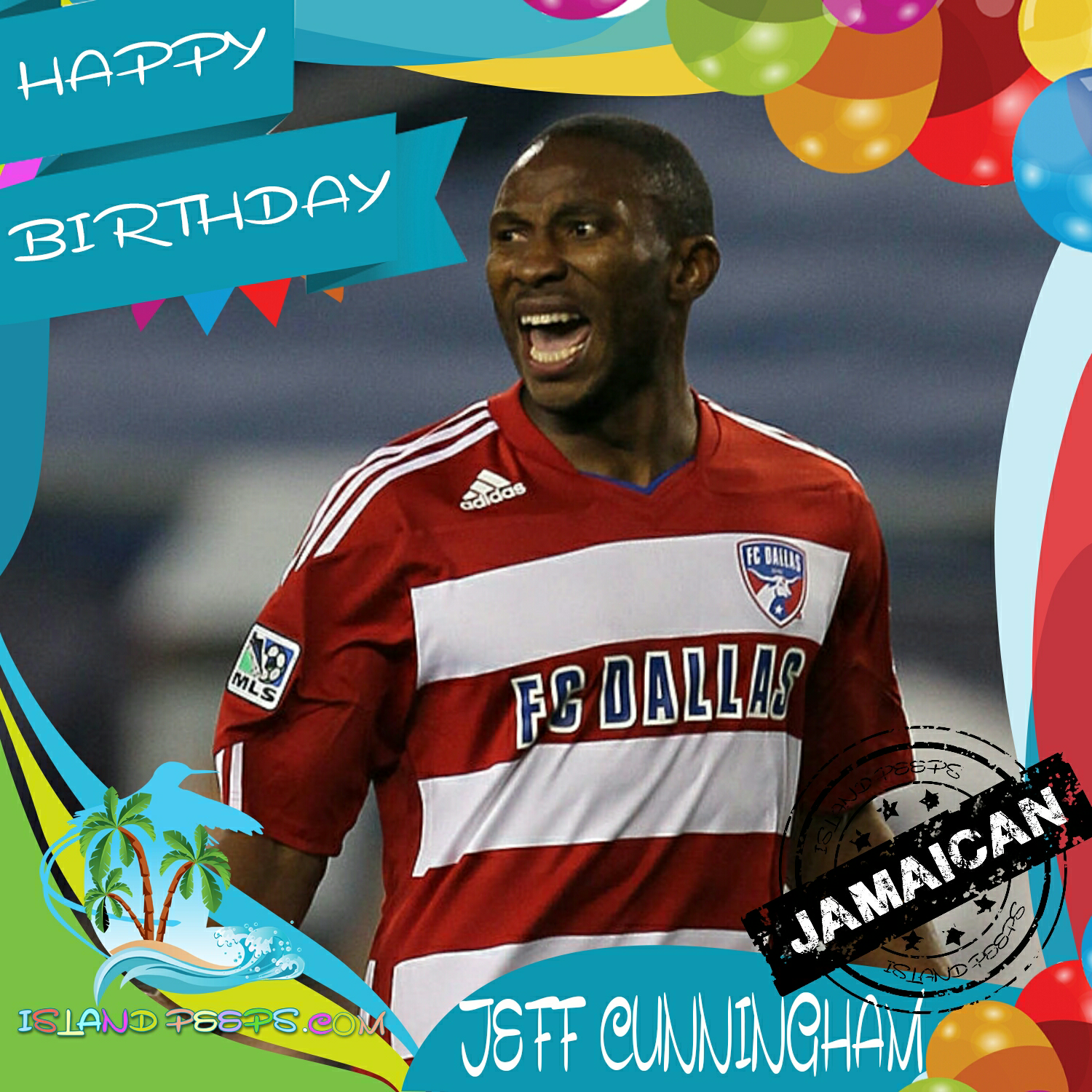 Happy Birthday Jeff Cunningham Major League Soccer Player Born In Jamaica Today We Celebrate You Jeffcunningham Isla Happy Birthday Jeff Major League Soccer Soccer Players