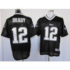 tom brady black jersey