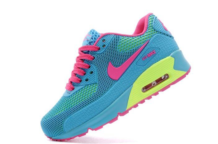 cheap for discount 9e175 45241 Air Max 90 KPU TPU Vert Et Jaune Chaussures De Sport Rose Enfant. Air Max  90Nike ...
