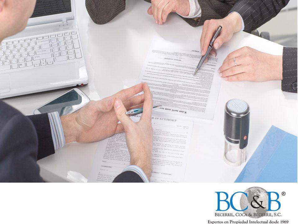 Elaboración de contratos. CÓMO REGISTRAR UNA MARCA. En Becerril, Coca & Becerril, preparamos, elaboramos y llevamos a cabo la inscripción de contratos relacionados con su marca registrada dependiendo de sus necesidades y requerimientos de comercialización, licenciamiento o en el ámbito corporativo. Le invitamos a contactarnos al teléfono 5263-8730 para asesorarlo y proteger sus ideas de la manera más adecuada. #becerrilcoca&becerril    www.bcb.com.mx