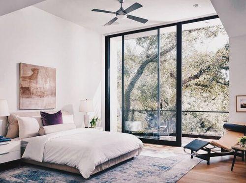Let S Rock Contemporary Bedroom Design Bedroom Design Sliding Glass Door