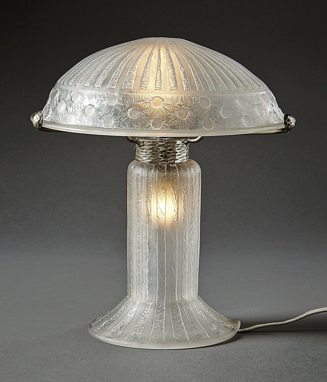 daum fr res nancy 1928 30 art deco table lamp h 35 cm 33 cm rh pinterest co uk