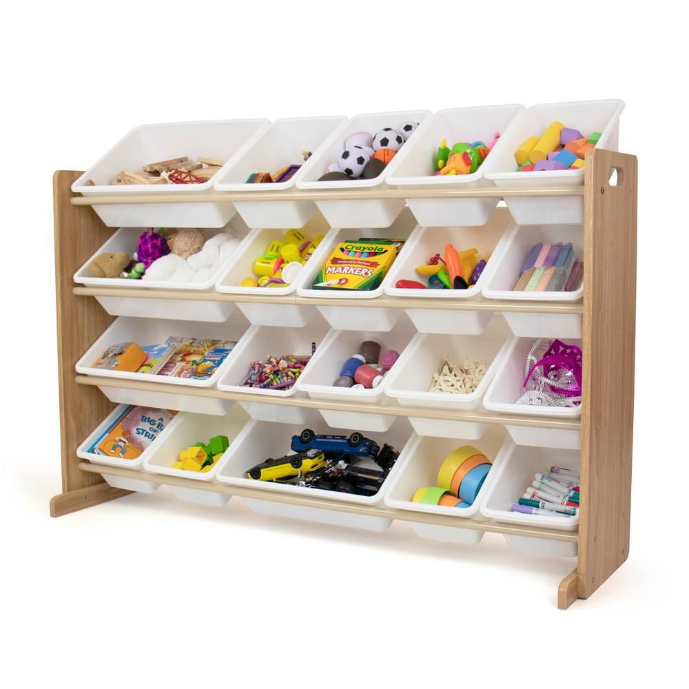 Humble Crew Journey Natural White Extra Large Toy Storage