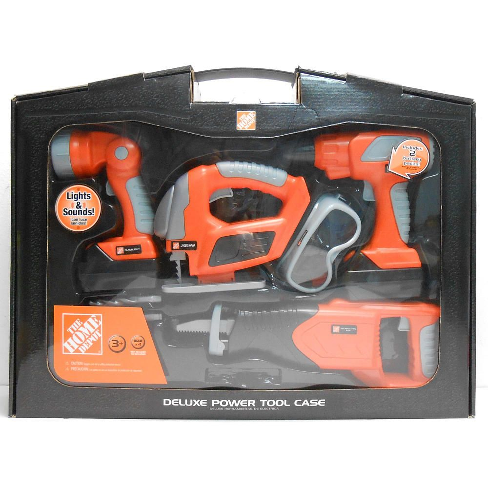 Em Is Turning 4 The Home Depot Deluxe Tool Set Toys R Us