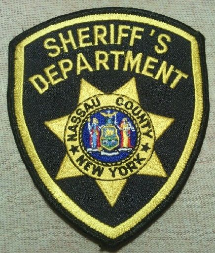 Nassau County Sheriff Ny Police Patches Law Enforcement Police Badge