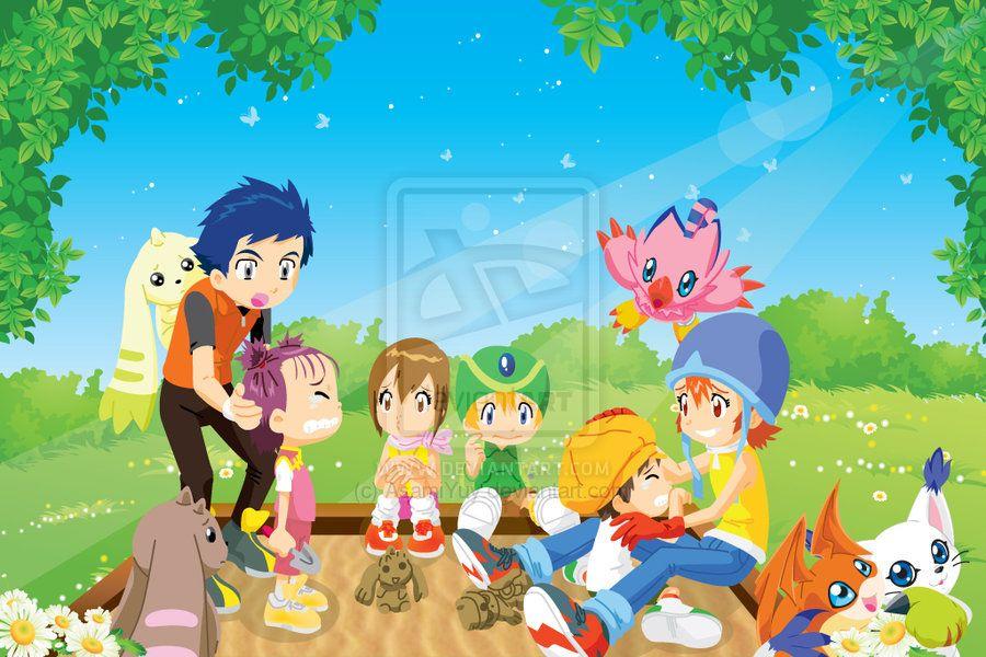 Digimon Crossover Original By Asamiyuy Deviantart Com On Deviantart Digimon Digimon Fusion Digimon Adventure
