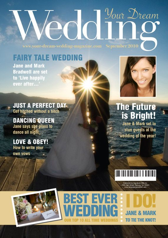 A Fun Wedding Gift Why Not Treat The Hy To This Fake Magazine