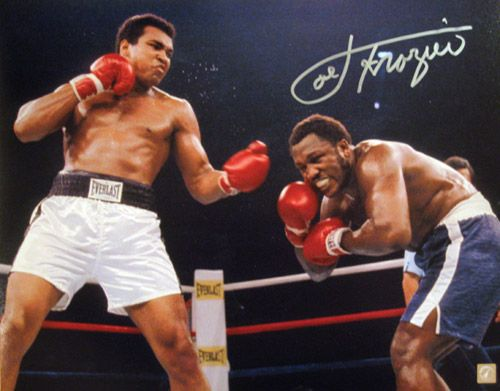 Ali vs. Frasier III. The greatest boxing fight of all-time!