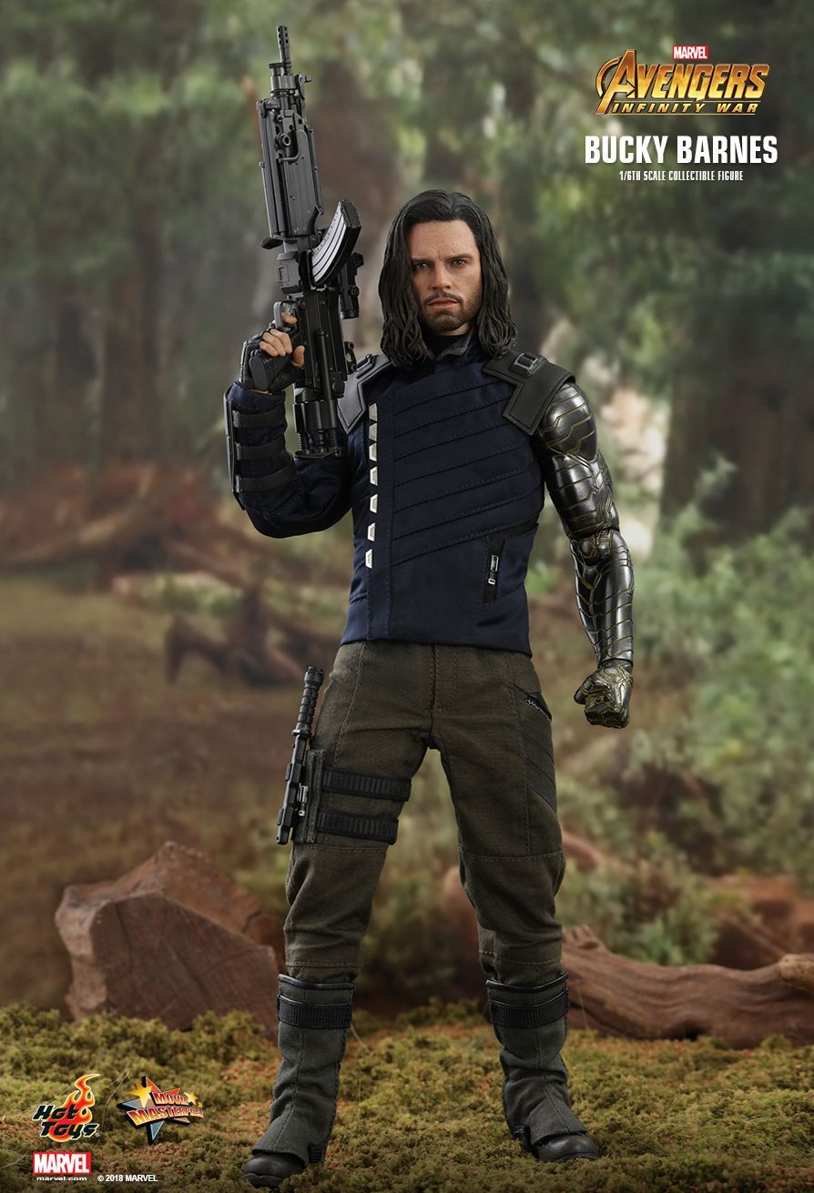 Hot Toys Avengers Infinity War Bucky Barnes 1 6th Scale