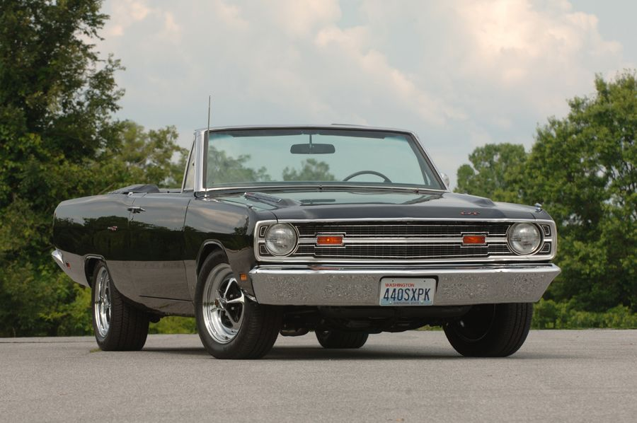 1969 Dodge Dart Gt Covertible 440 Six Pack Best Muscle Cars