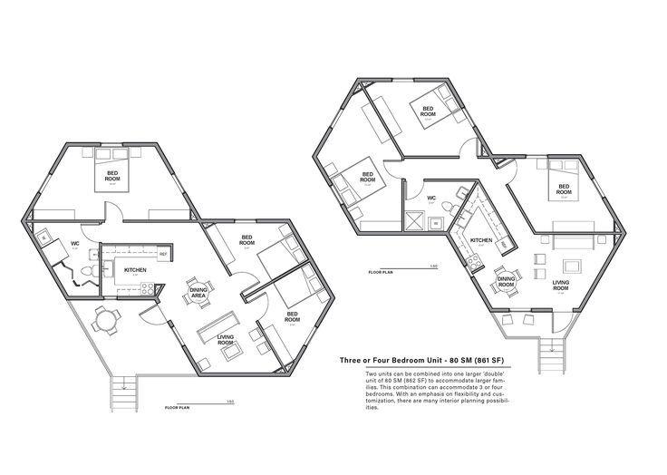 Hex House é uma casa solar acessível e rapidamente