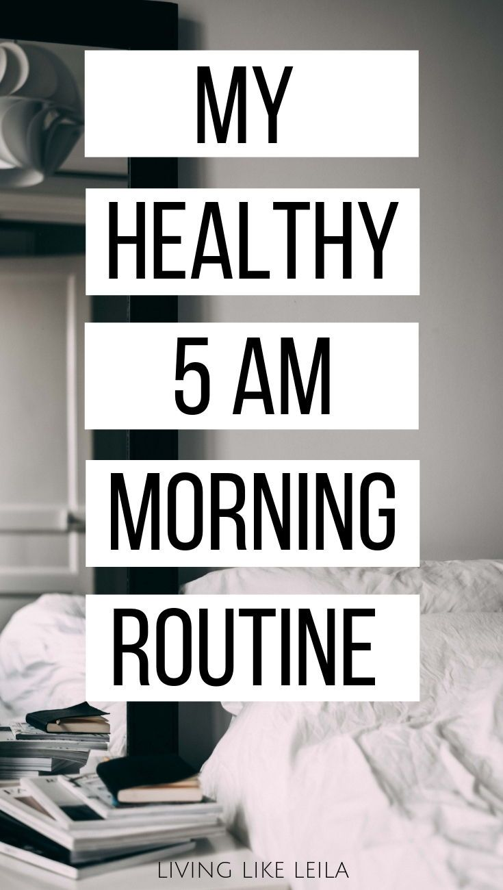 My Healthy Work Morning Routine - Living like Leila - Inspiration to Reach Your Full Potential #morningroutine