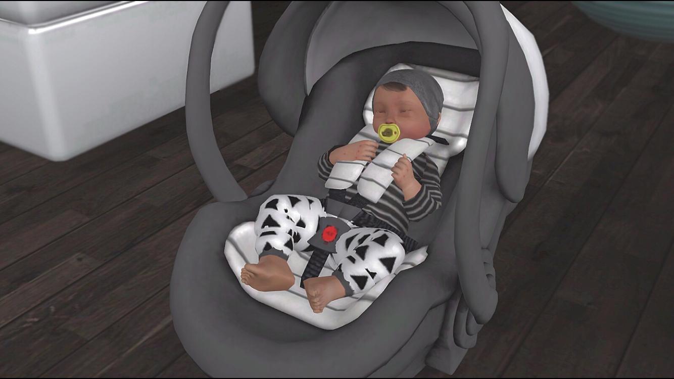 Ts3 Tumblr Newborn Car Seat Sims 4 B 233 B 233 Sims