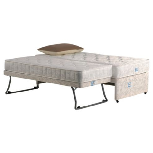 Tesco Direct Airsprung Essentials Guest Bed Single Pop Up Trundle Bed Furniture Guest Bed