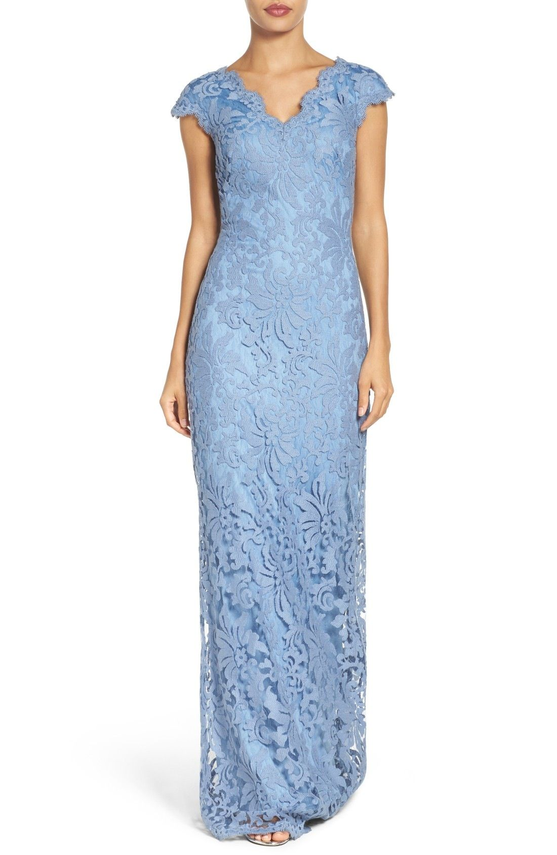 Tadashi Shoji Lace Gown available at #Nordstrom | Wedding2 ...