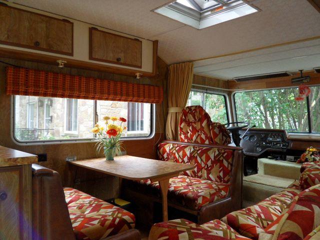 Vintage Motorhome Interior Dinette By Opensky83 Via Flickr