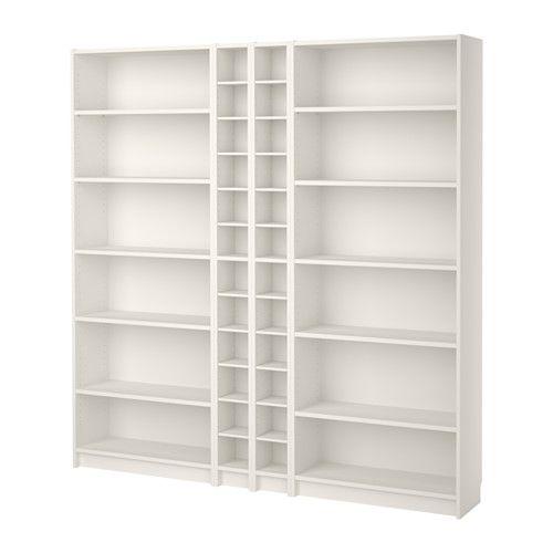 Bücherregal ikea braun  BILLY / GNEDBY Bücherregal, braun Eschenfurnier | Bookcase white ...