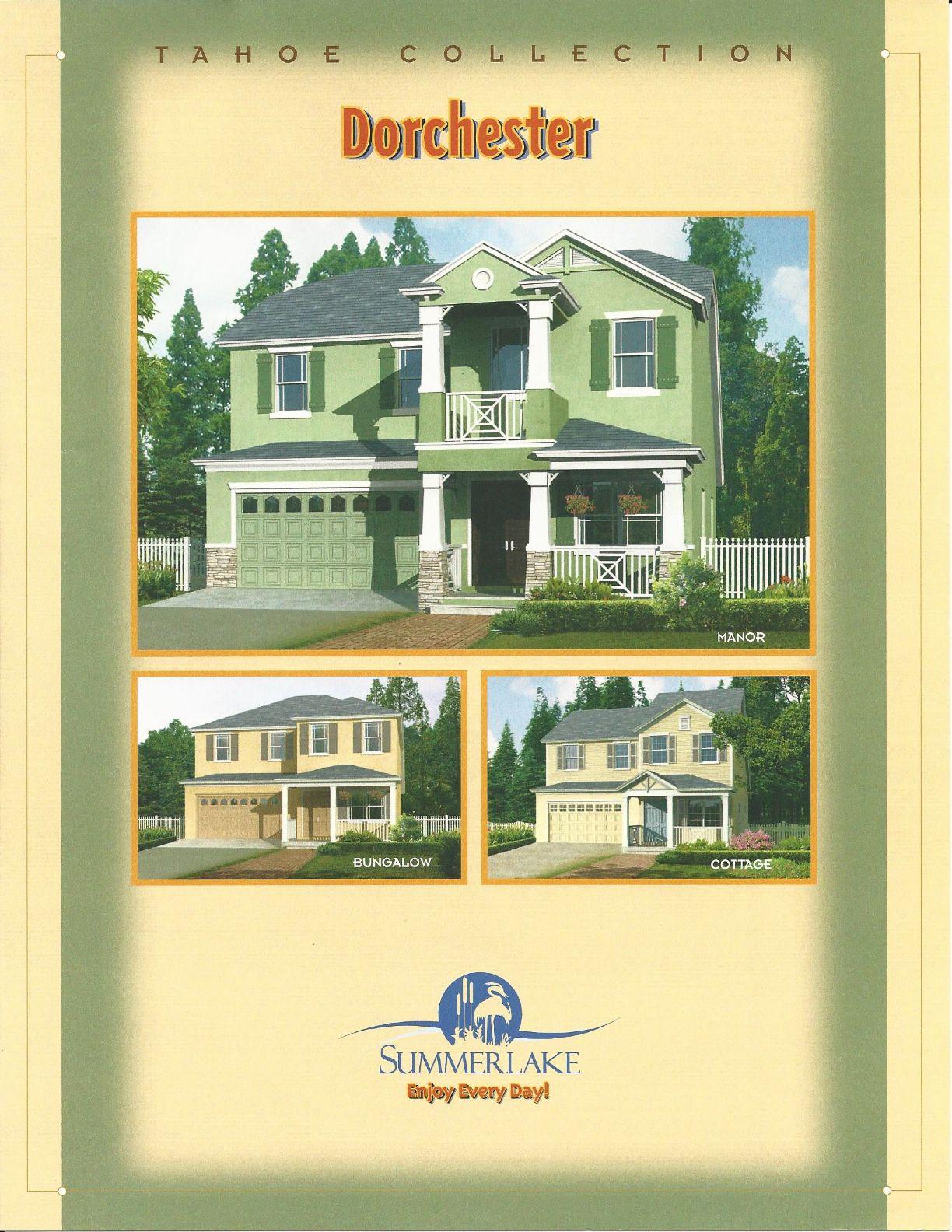 summerlake center line homes tahoe collection dorchester model in