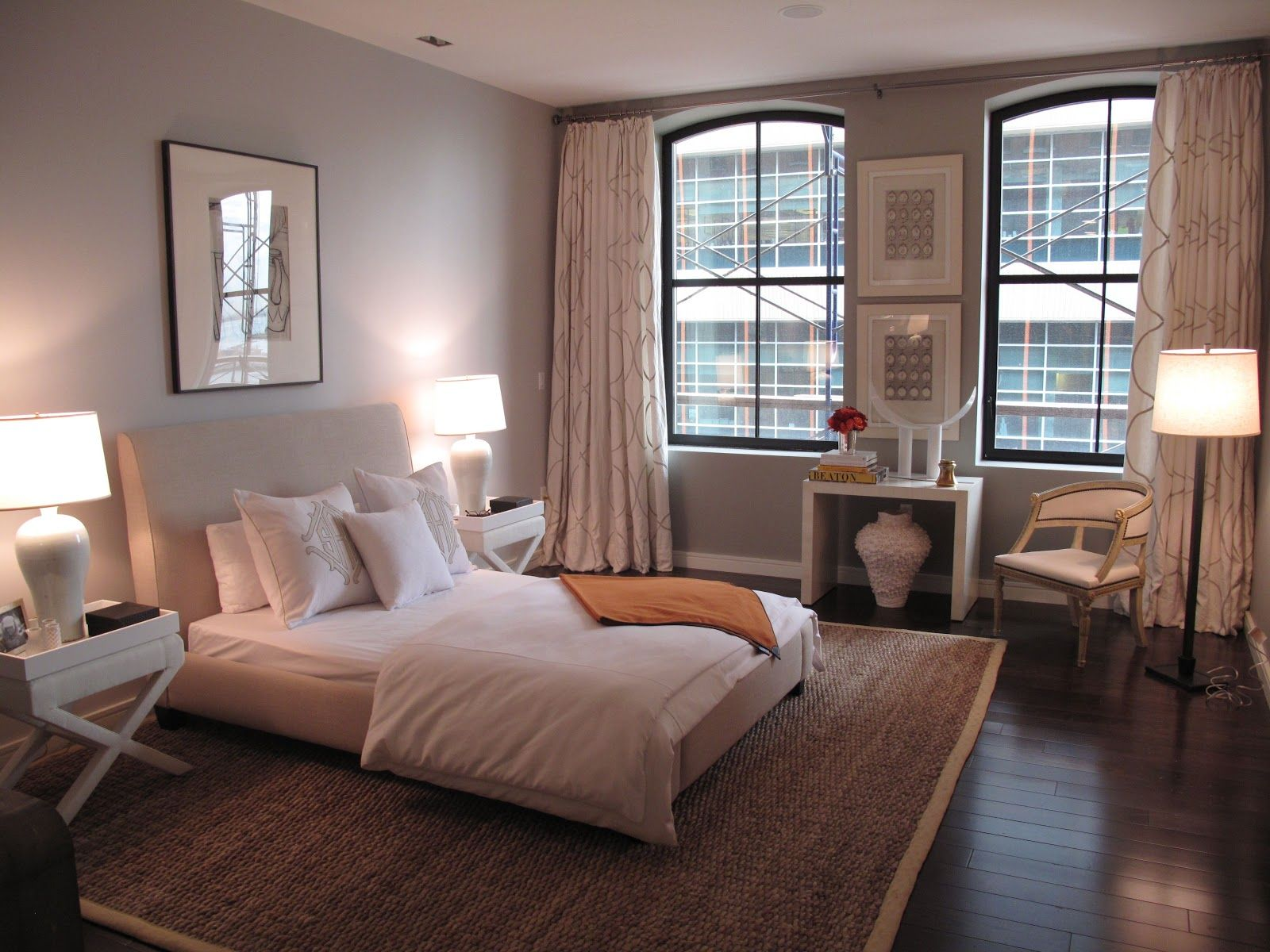 Lovely neutral room wall paint benjamin moores silver fox